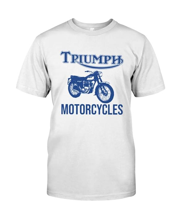 Triumph Motorcycles For Biker cotton t-shirt Hoodie Mug