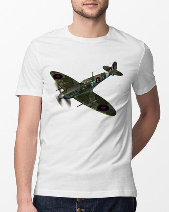 Supermarine Spitfire For Lovers cotton t-shirt Hoodie Mug