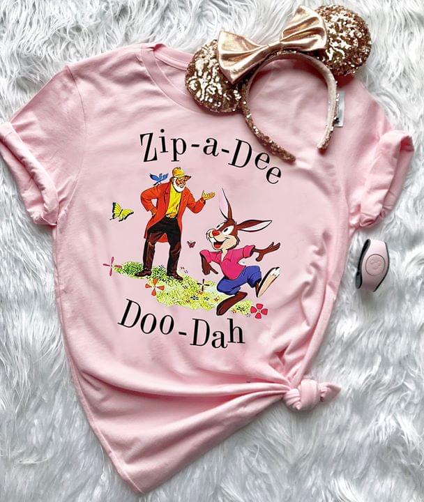 Walt Disney Zip A Dee Doo Dah Song For Fan cotton t-shirt Hoodie Mug