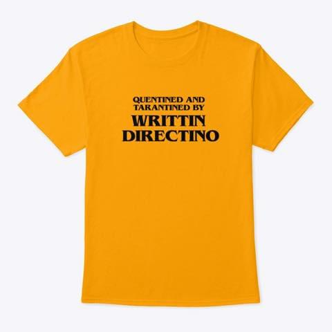 Quentined And Tarantined By Writtin Directino Funny For Quentin Tarantino Fan T Shirt cotton t-shirt Hoodie Mug