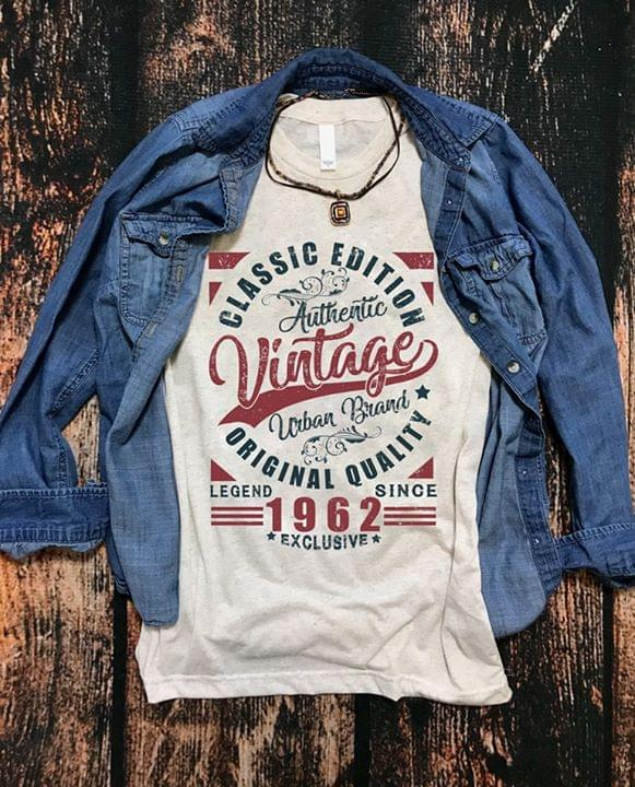 Classic Edition Authentic Vintage Urband Brand Original Quality Legend Since 1962 Exclusive cotton t-shirt Hoodie Mug