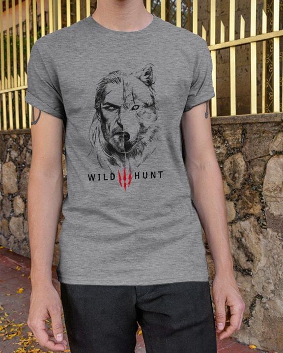 The Witcher Wild Hunt cotton t-shirt Hoodie Mug