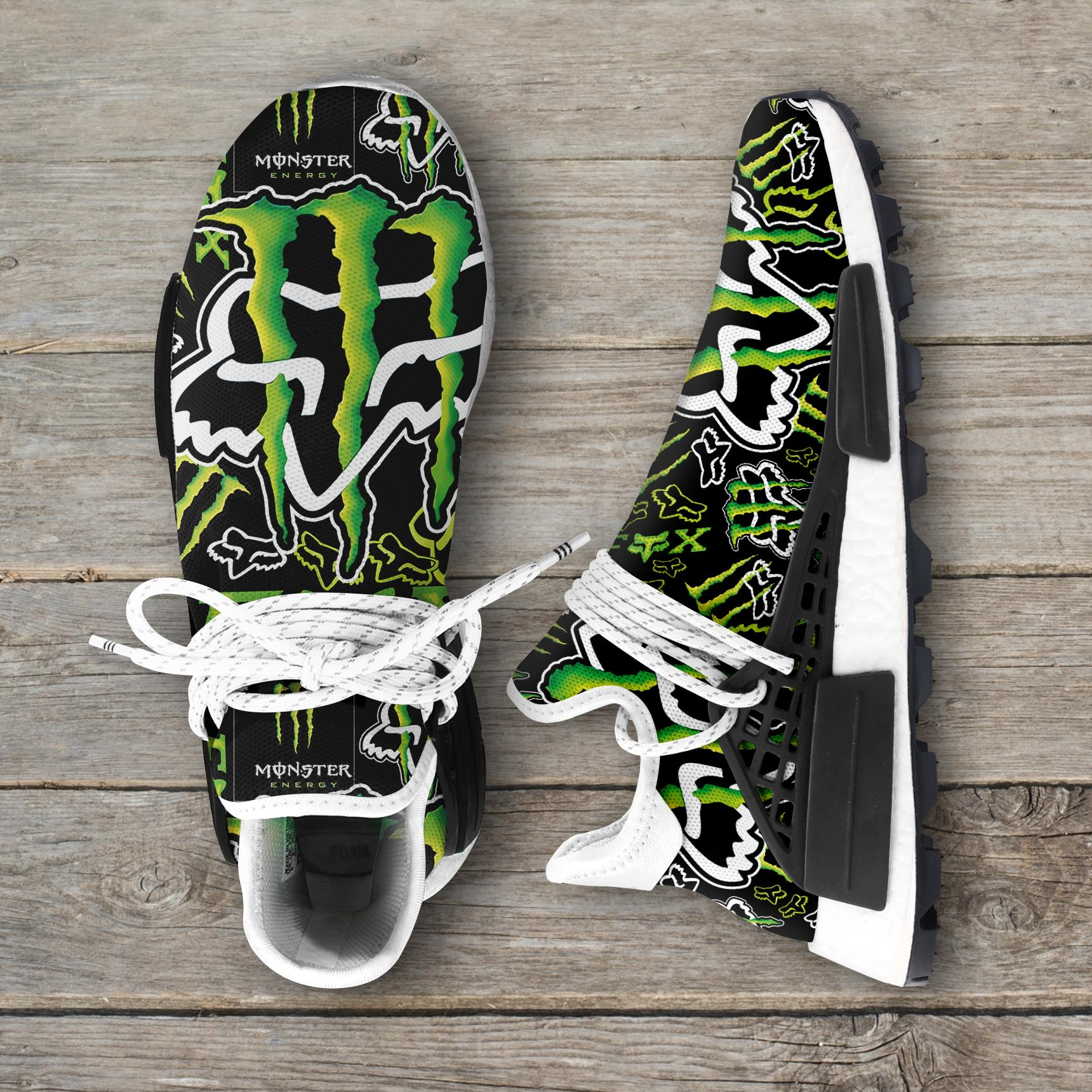 Monster Energy - Fox Racing Nmd Sneakers