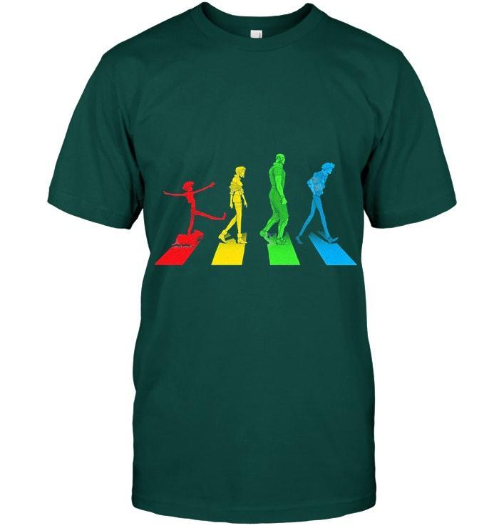Cowboy Bebop Abbey Road The Beatles Crossover Shirt
