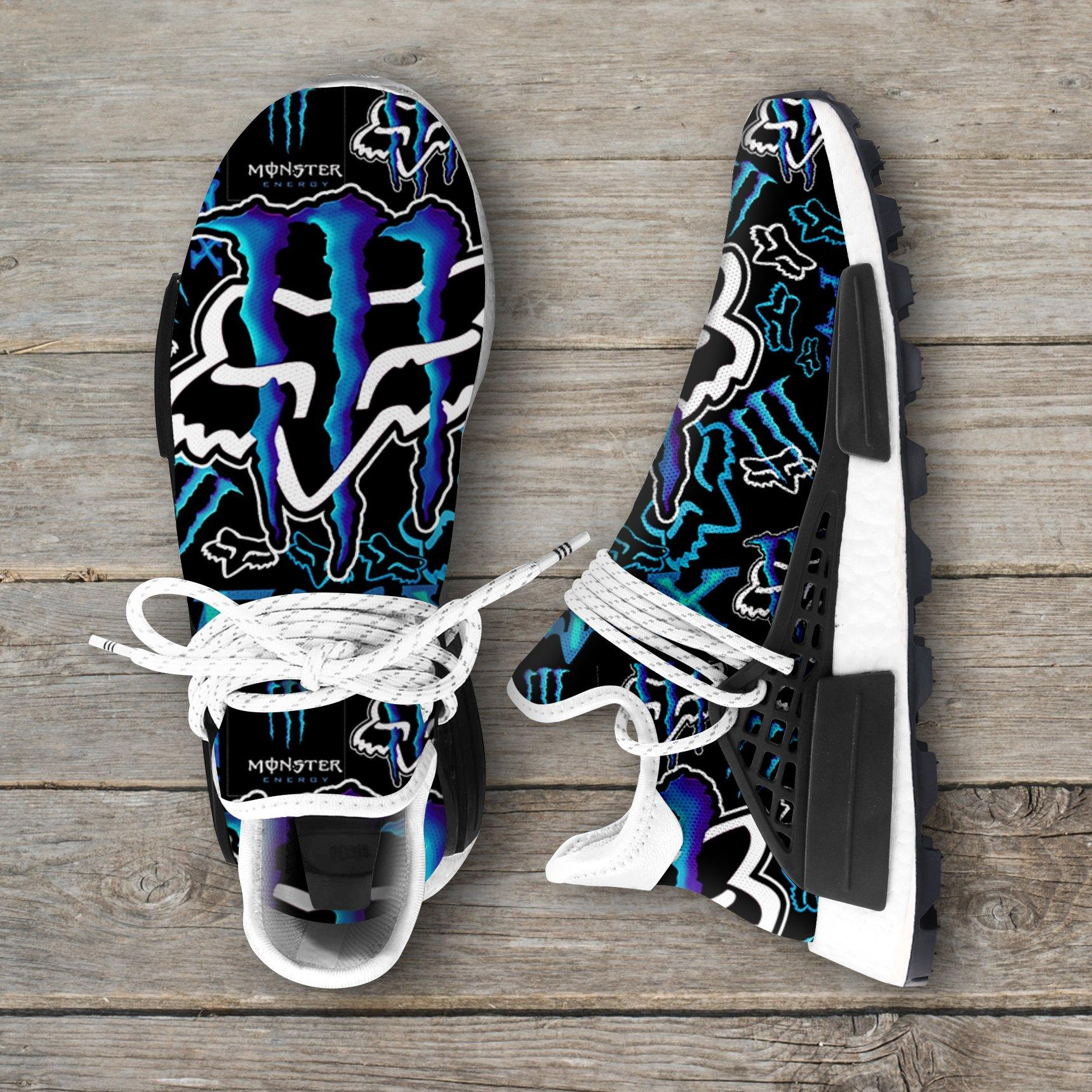 Monster Energy Blue Fox Racing Nmd Sneakers