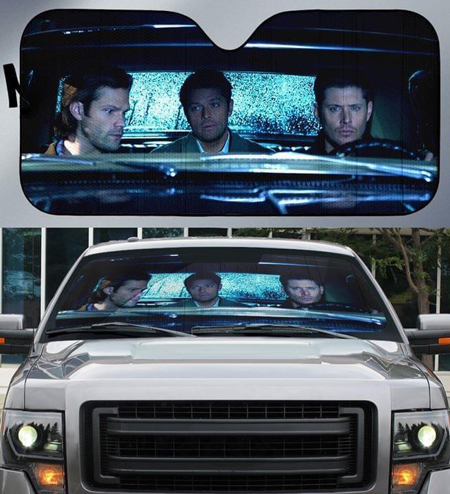 Supernatural Car Auto Sun Shade