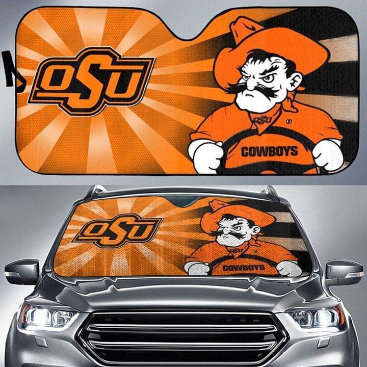 Oklahoma State Cowboys Car Auto Sun Shade