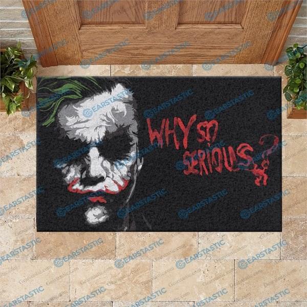 Joker Why So Serious Doormat