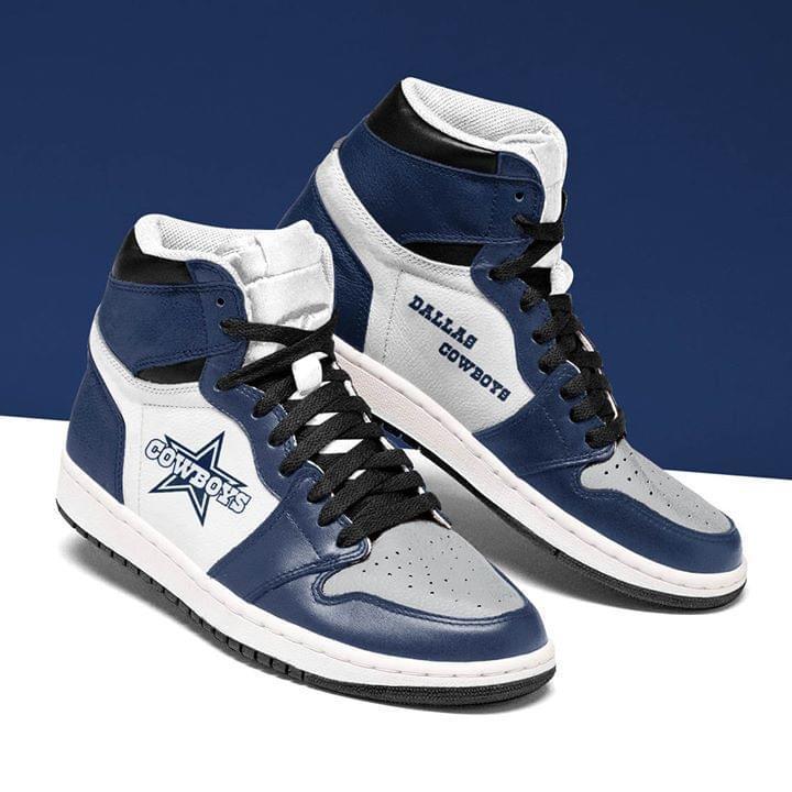 Dallas Cowboys Fan Air Jordan Sneakers