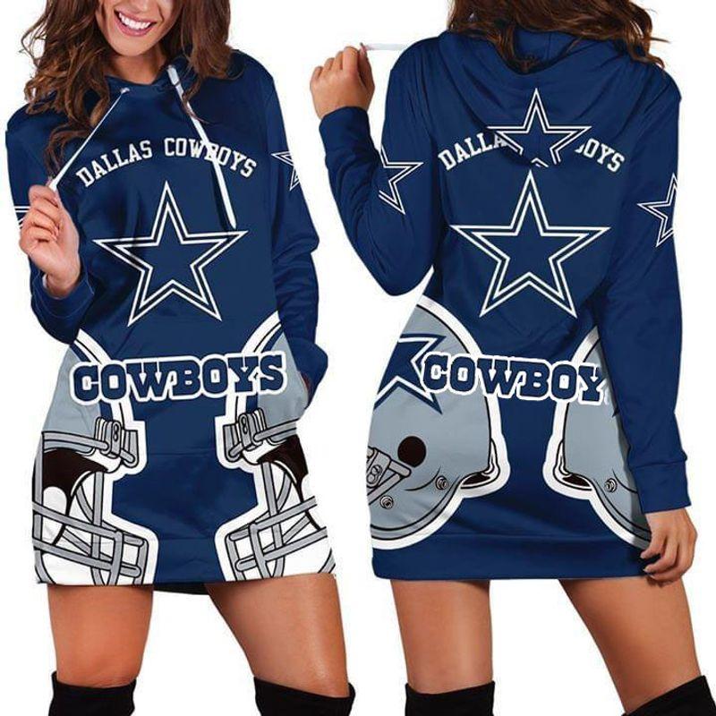 Dallas Cowboys Fan 3d Hoodie Dress