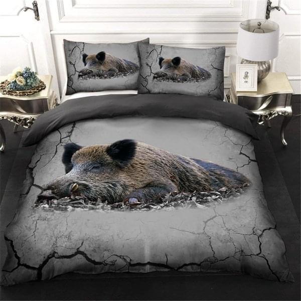 Wild Boar Lover Bedding Set