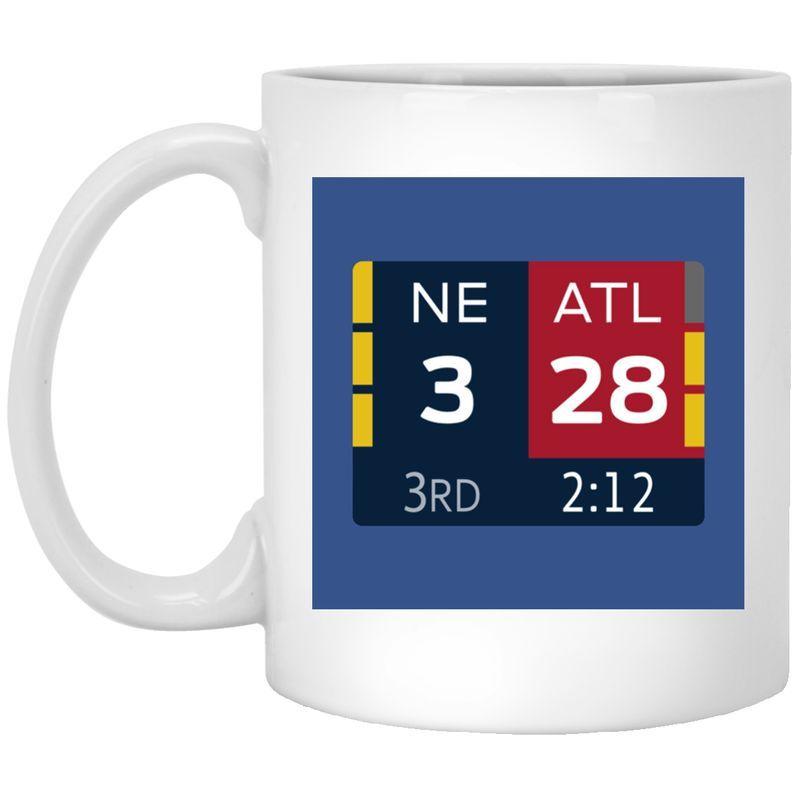 28-3 Comeback Mug ?? New England Champions Coffee Mug