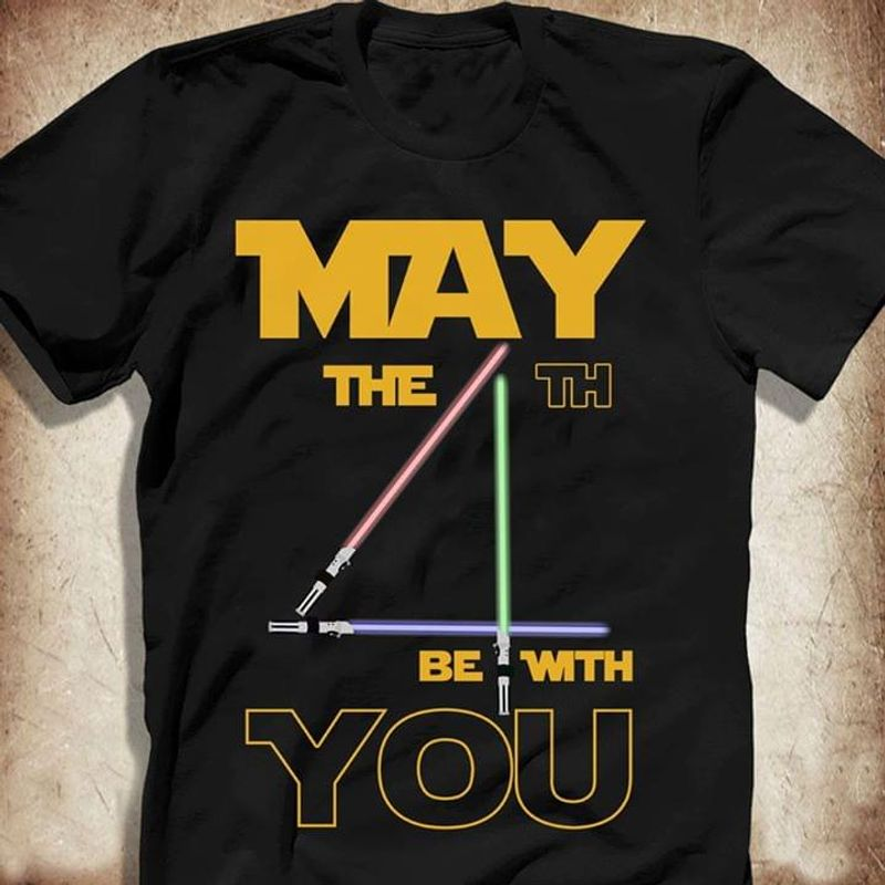 Star Wars Day May The 4th Be With You T Shirt S-6xl Mens And Women Clothing