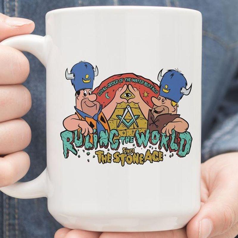 Ruling The World Since The Stone Age Mug White Ceramic 11oz 15oz Coffee Tea Cup
