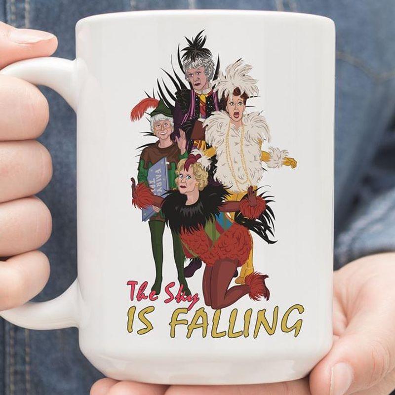 The Golden Girls The Sky Is Falling Mug White Ceramic 11oz 15oz Coffee Tea Cup