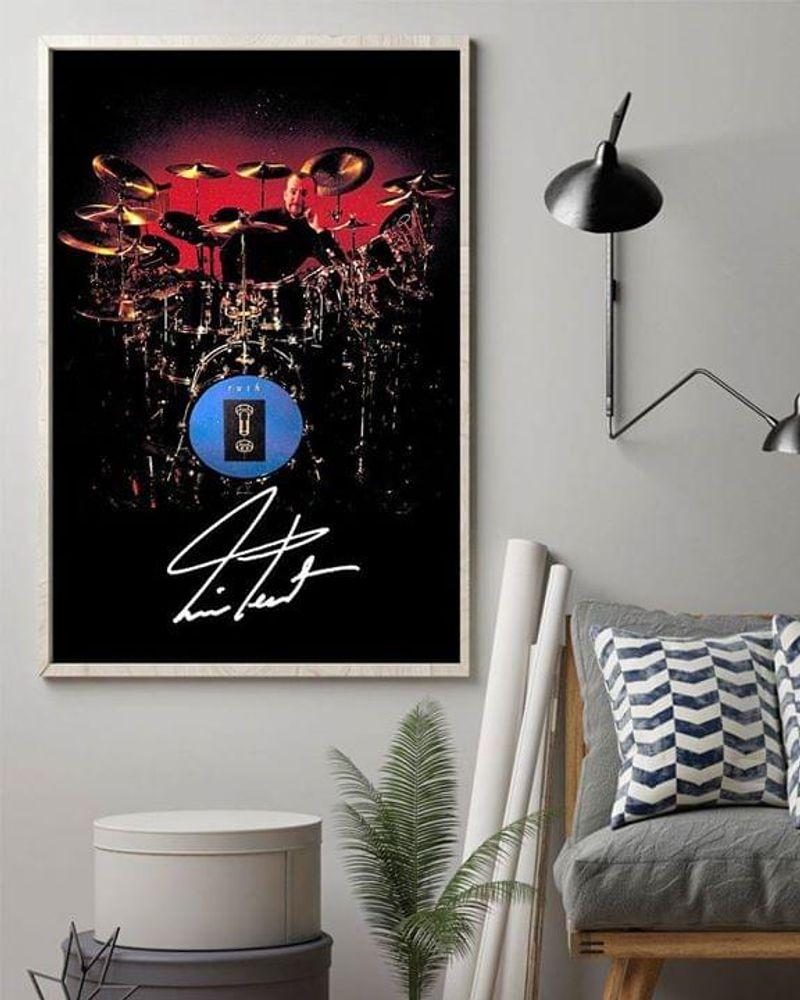 Neil Peart Rush Band Poster No Frame/ Framed Canvas