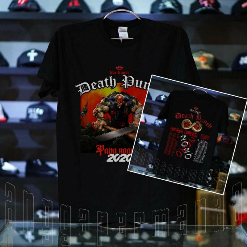 #FFDP Five Finger Death Punch Tour Shirt Concert 2020 Multi-Color T-Shirt S-5XL
