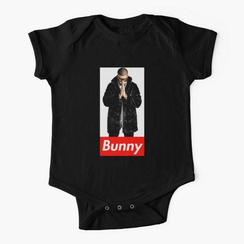 Bad Bunny Rapper Baby One-Piece