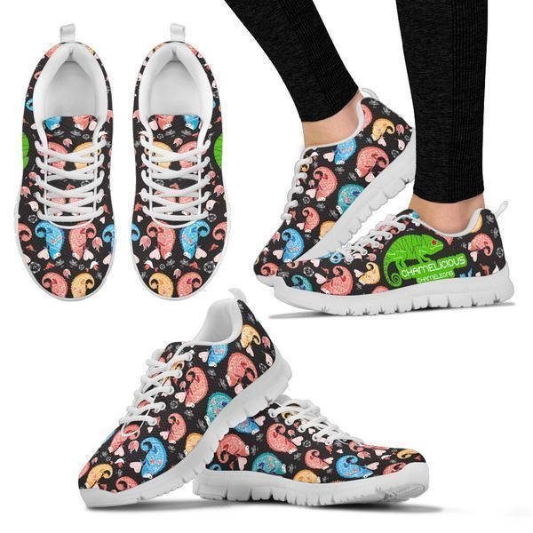 Chameleons Pattern Sneakers I1e