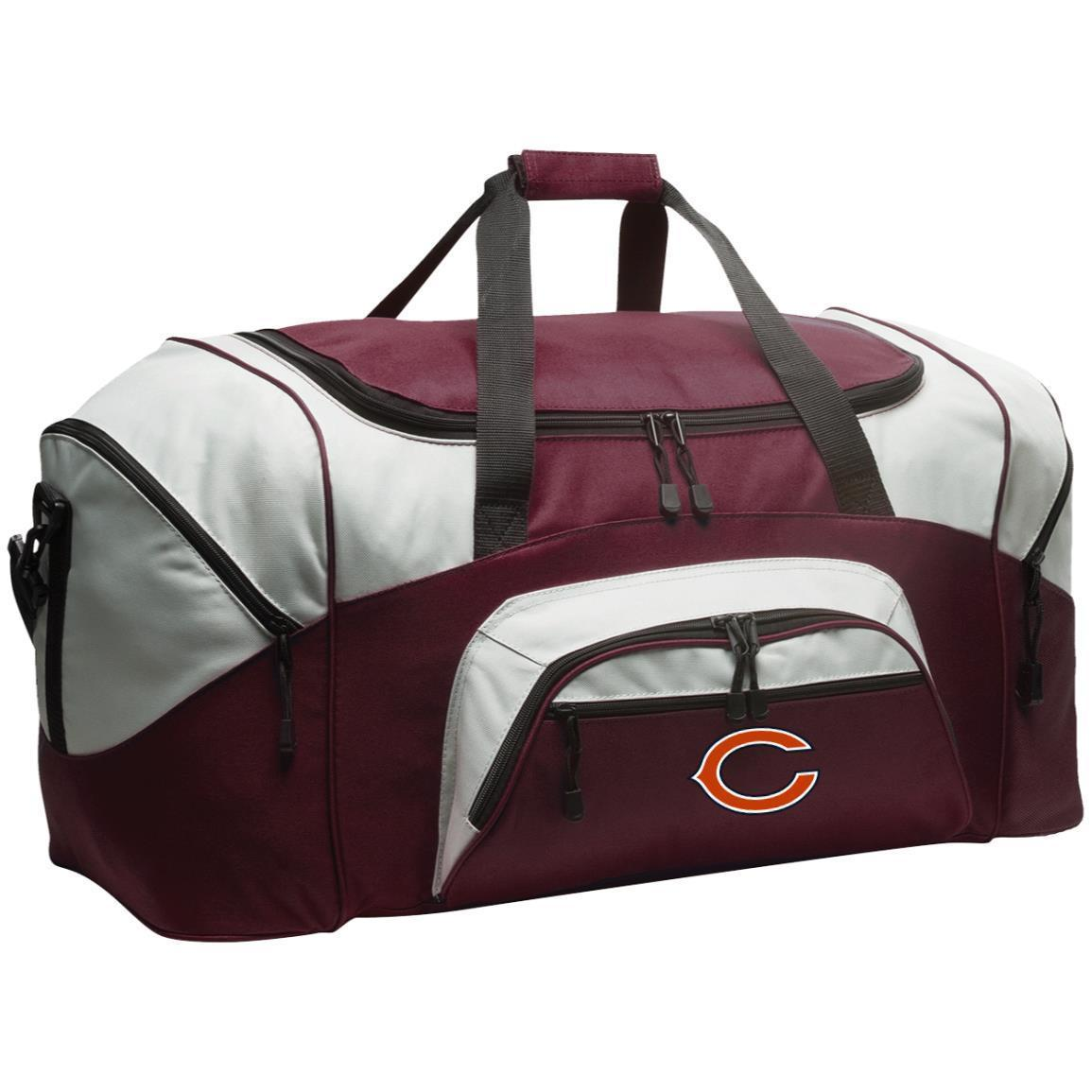 Chicago Bears Nfl Colorblock Sport Duffel Bag