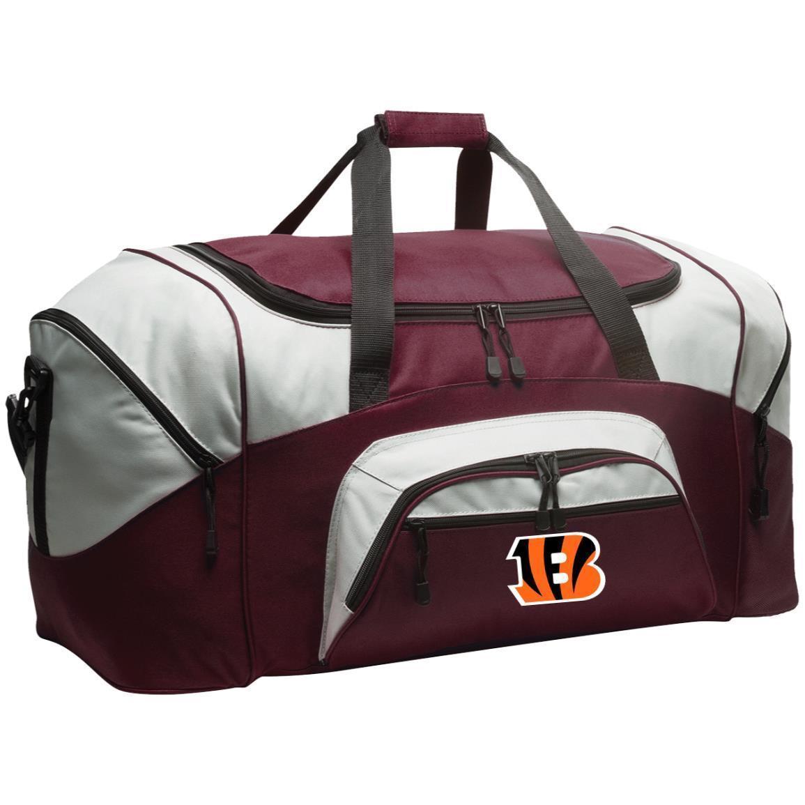 Cincinnati Bengals Nfl Colorblock Sport Duffel Bag