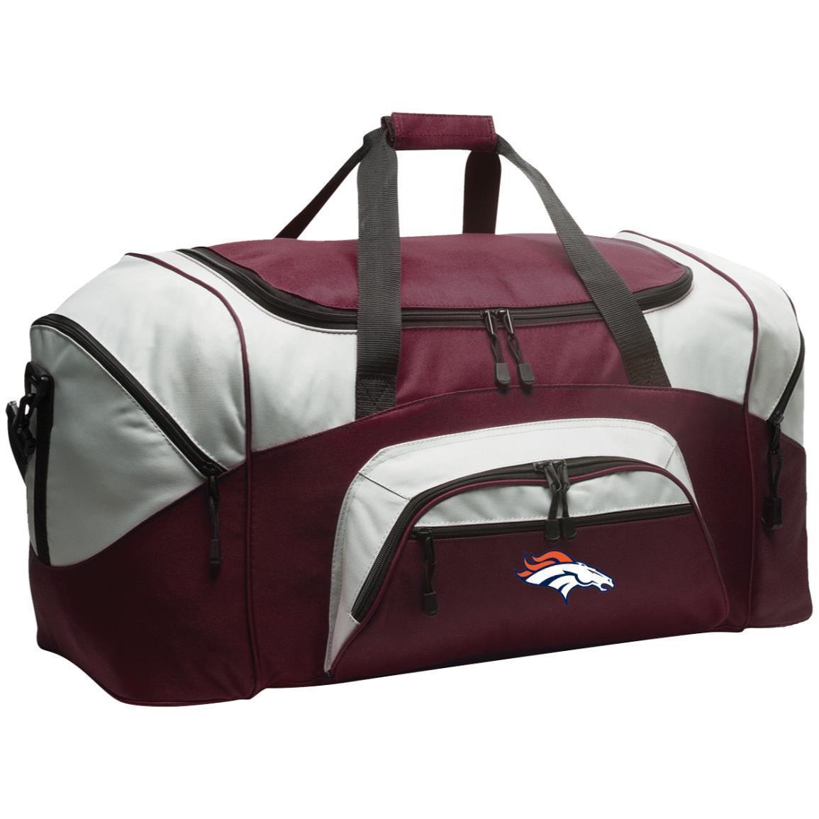 Denver Broncos Nfl Colorblock Sport Duffel Bag