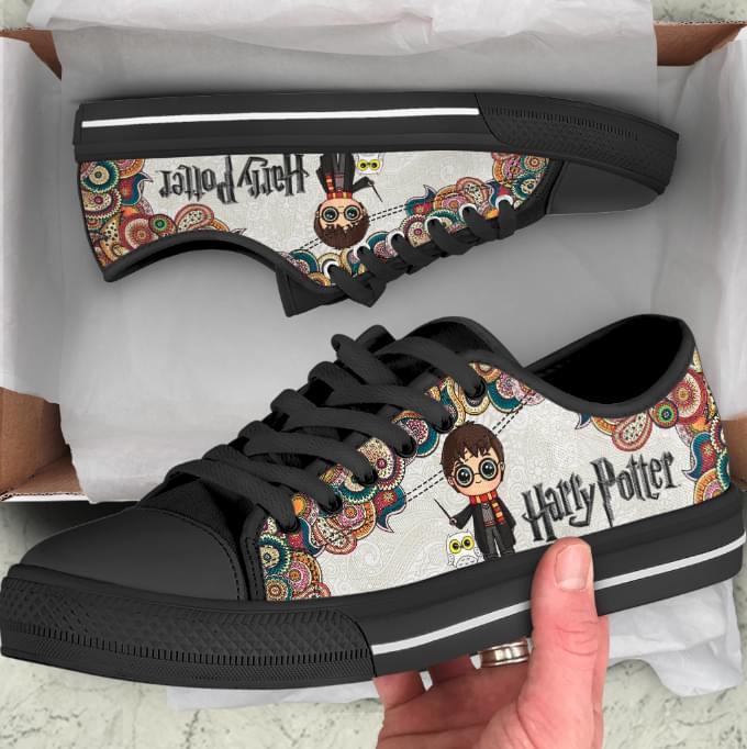 Harry Porter Magician Custom Converse Xef