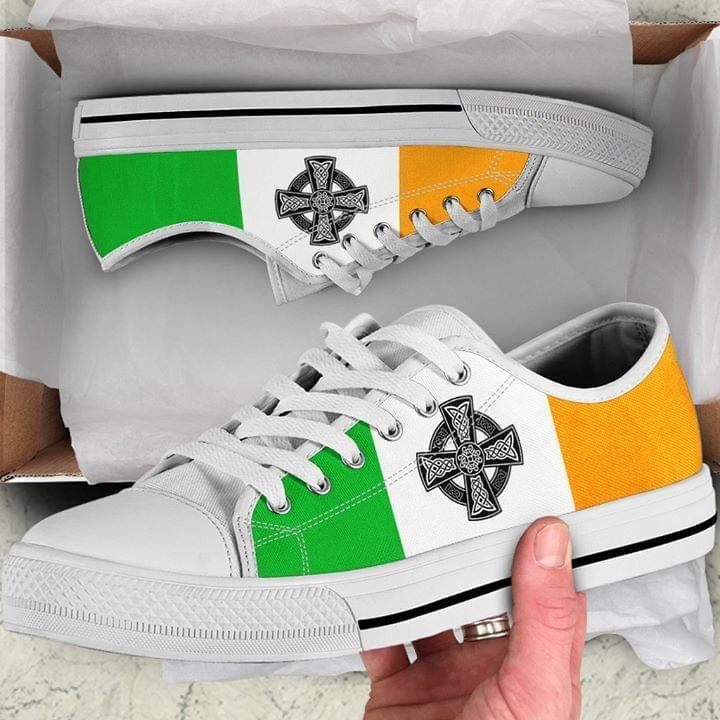Irish Viking Cross Symbol Converse Sneaker