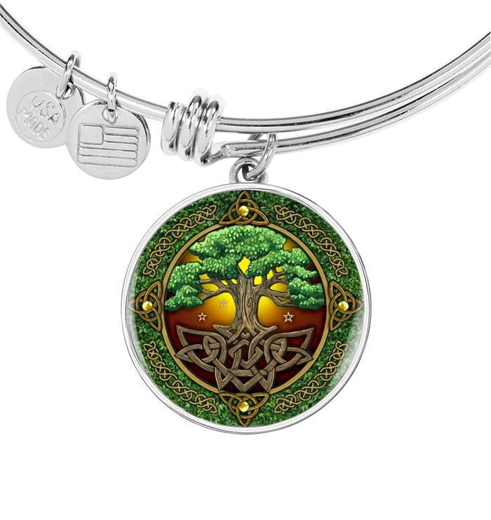 Irish Yggdrasil Tree Necklace