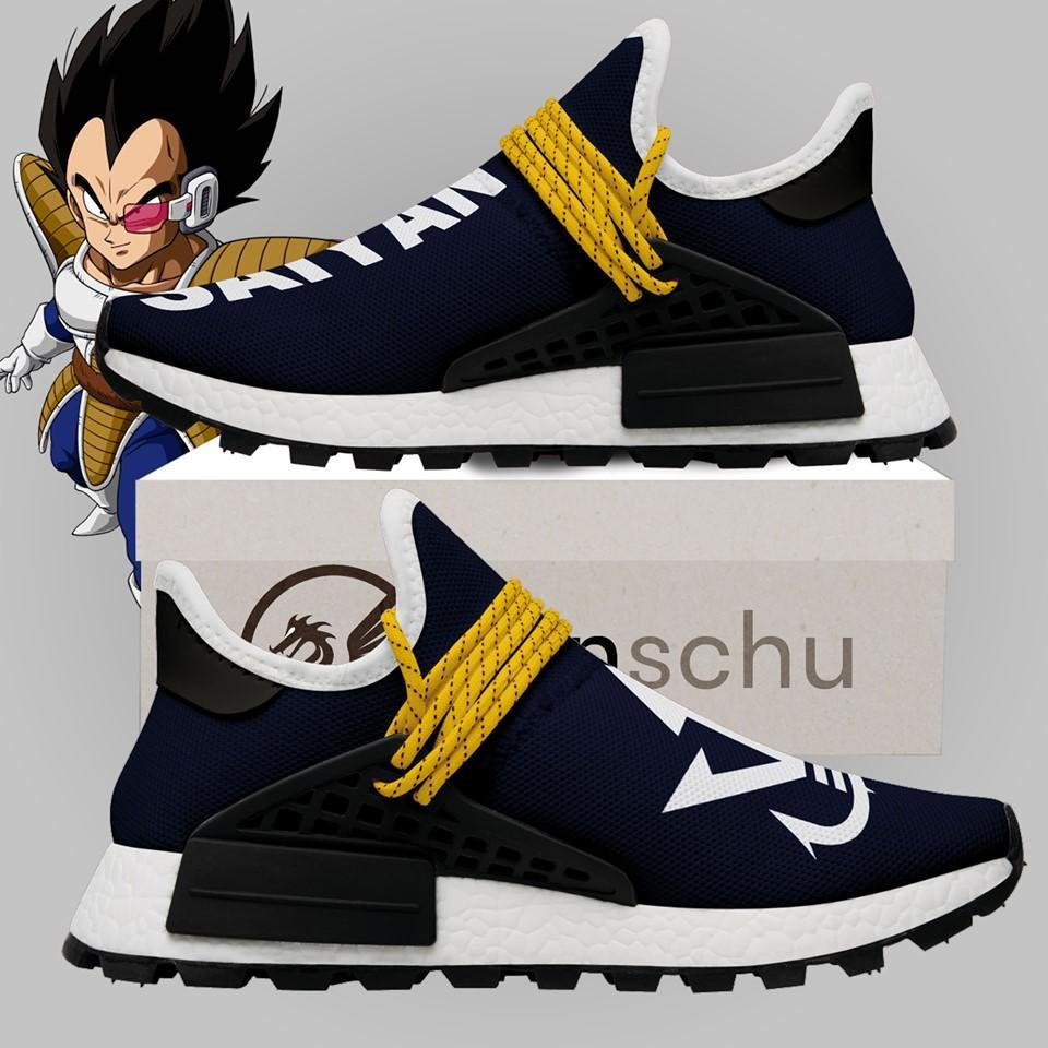 Saiyan Inspiration Dragon Balls Custom Nmd Human Race Nmd Sneakers