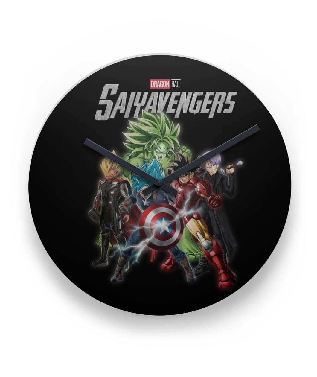 Saiyavenger Dragon Ball Avenger Clock