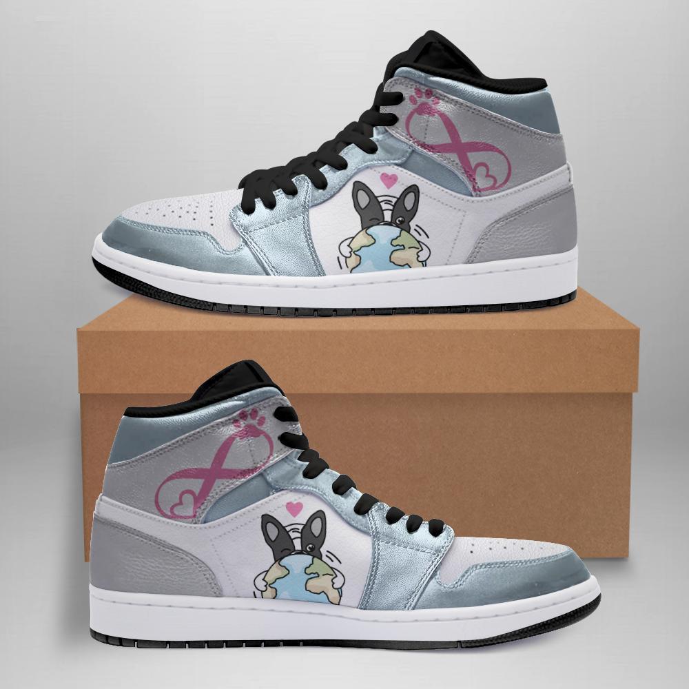 Frenchie Jordan Sneakers White Soles Black Shoelaces Leather Shoes Dtl R8p8