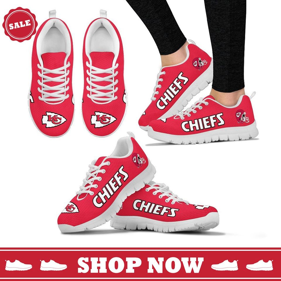 Chiefs Kansas City Fan Running Shoes Breathable Sneakers