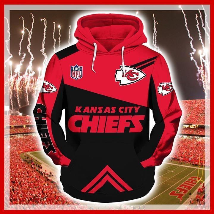 100 Nfl Kansas City Chiefs 3d Printed Hoodie 3d