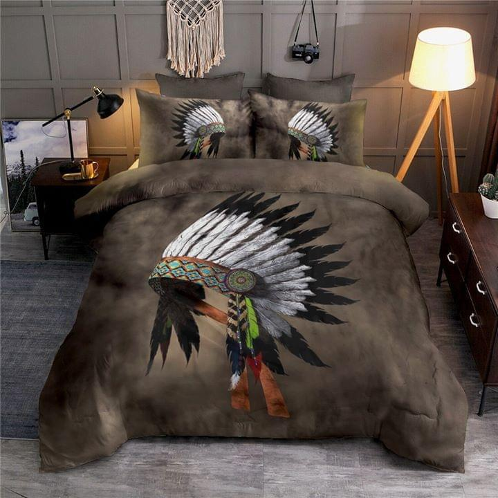 Indian Chief Hat Bedding Set