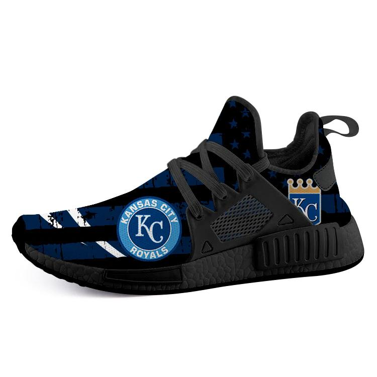 Kansas City Royal Nmd Men Running Shoes Black Nmd Sneakers