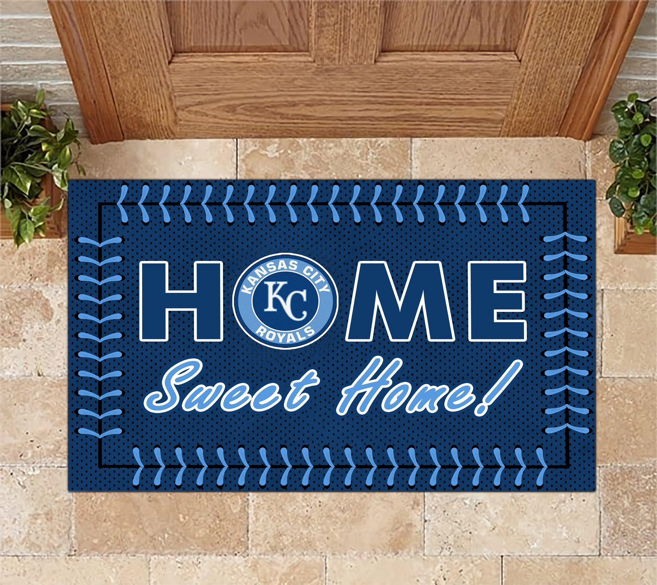 Kansas City Royals Home Sweet Home Doormat Doormat