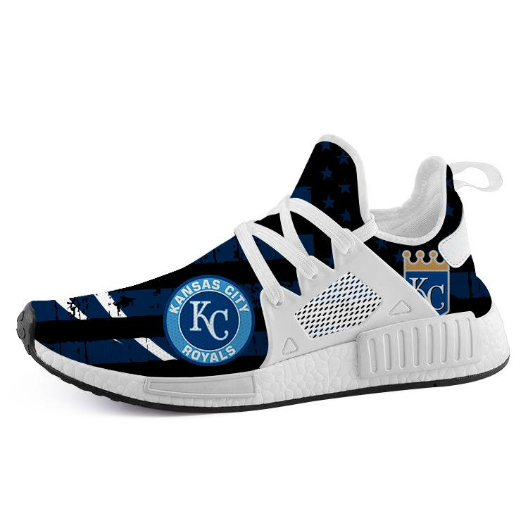 Kansas City Royals Nmd2 Men Running Shoes White