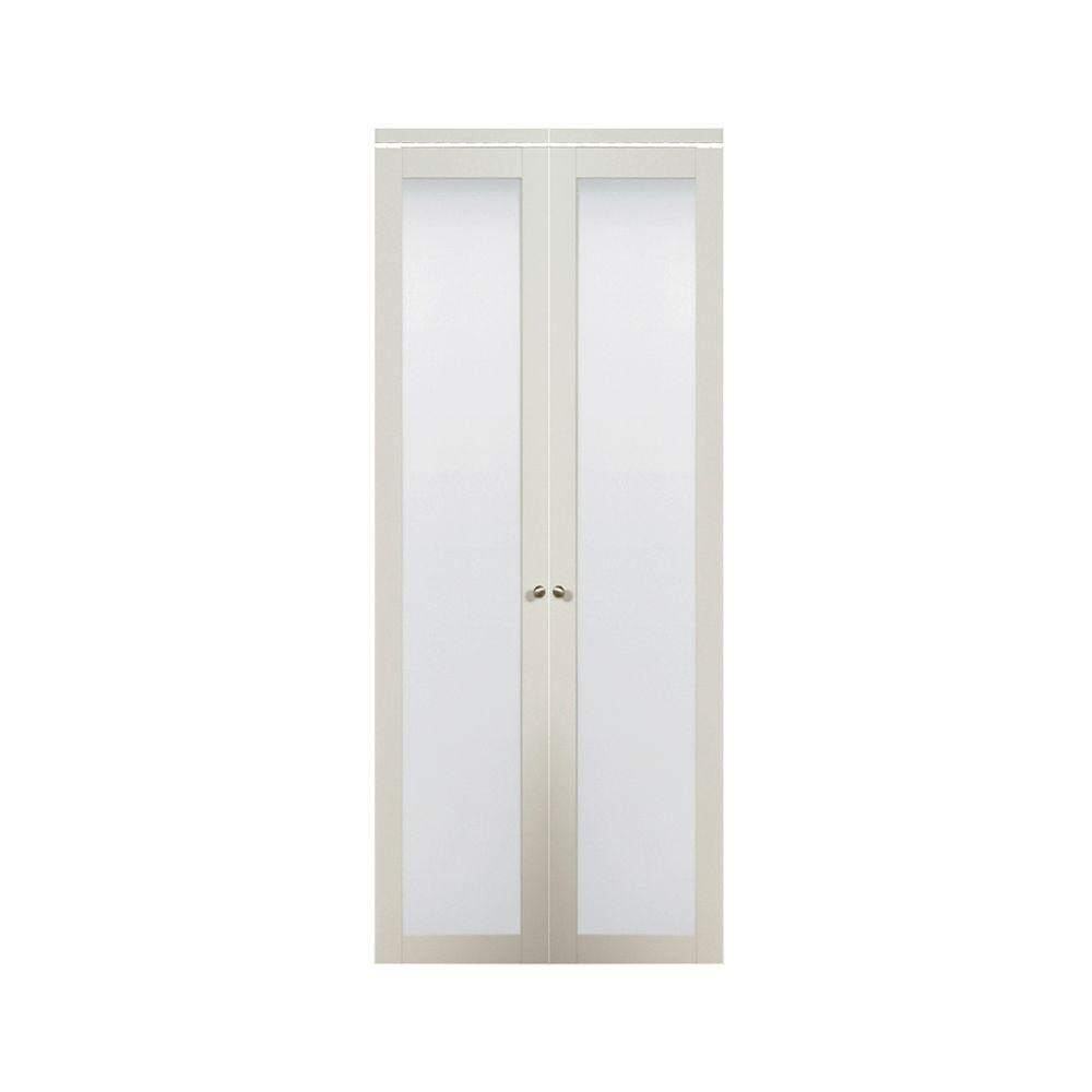 Bifold Closet Doors With Frosted Glass