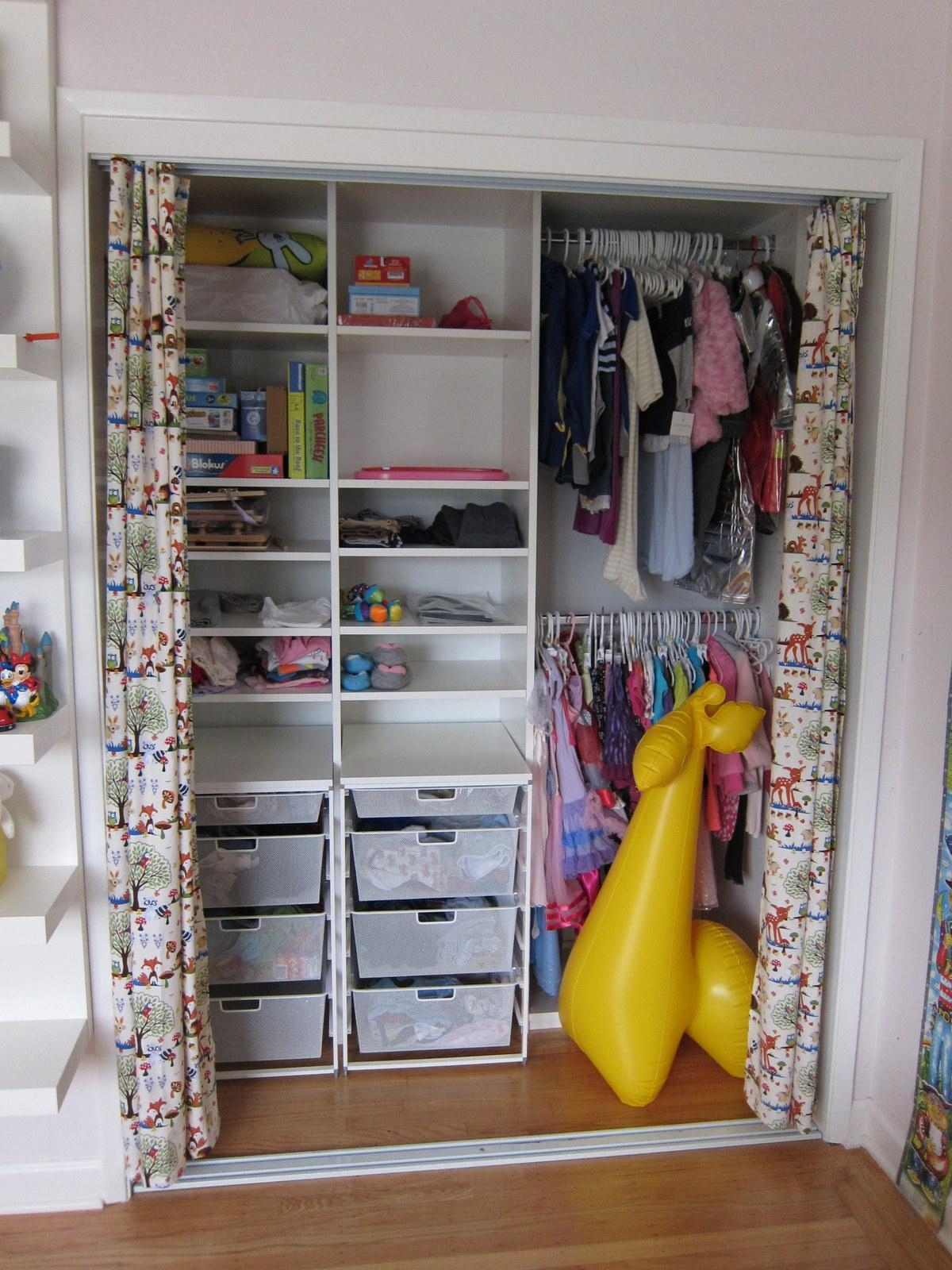Closets Without Doors Ideas