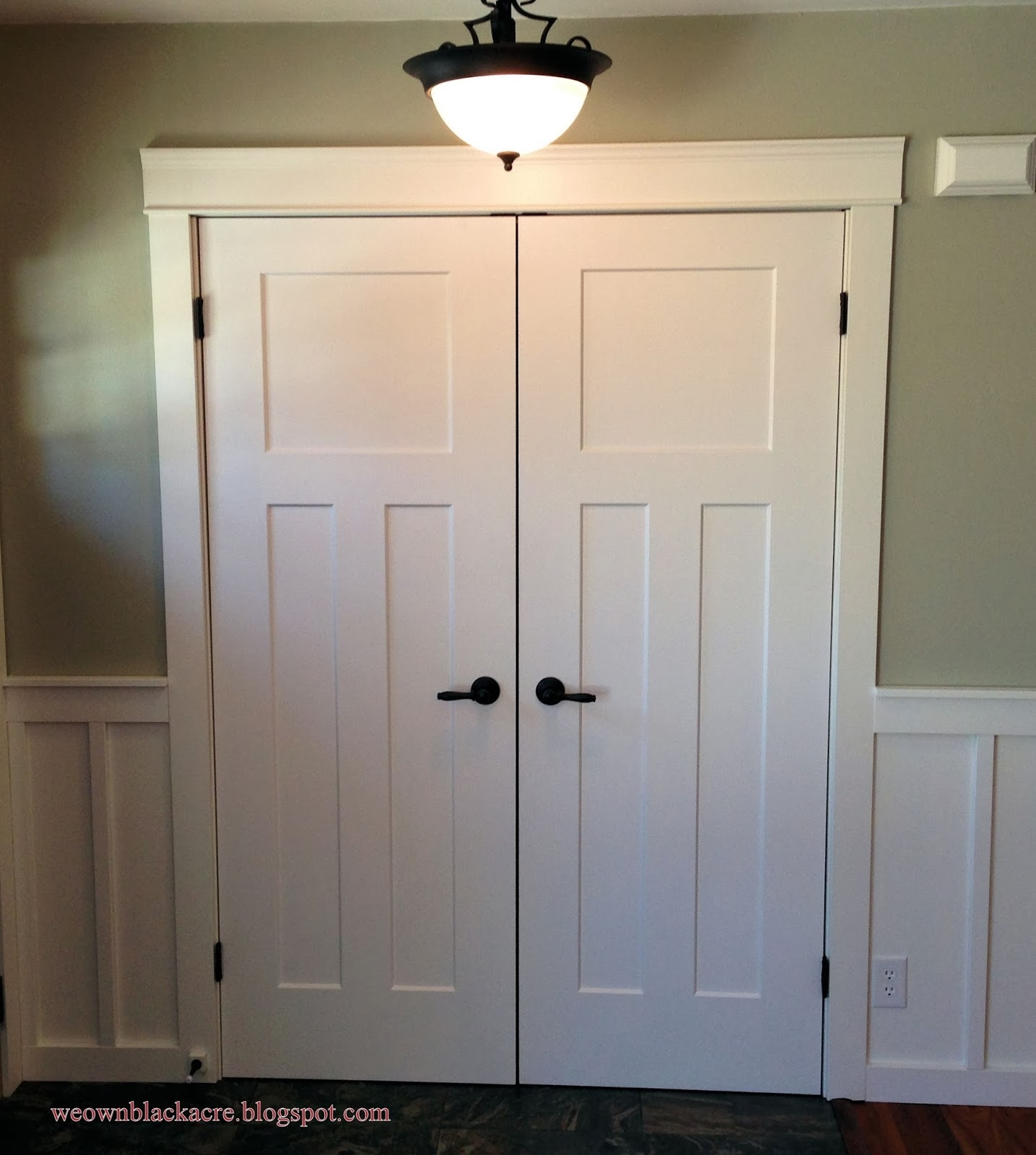 Double Closet Doors Hinged