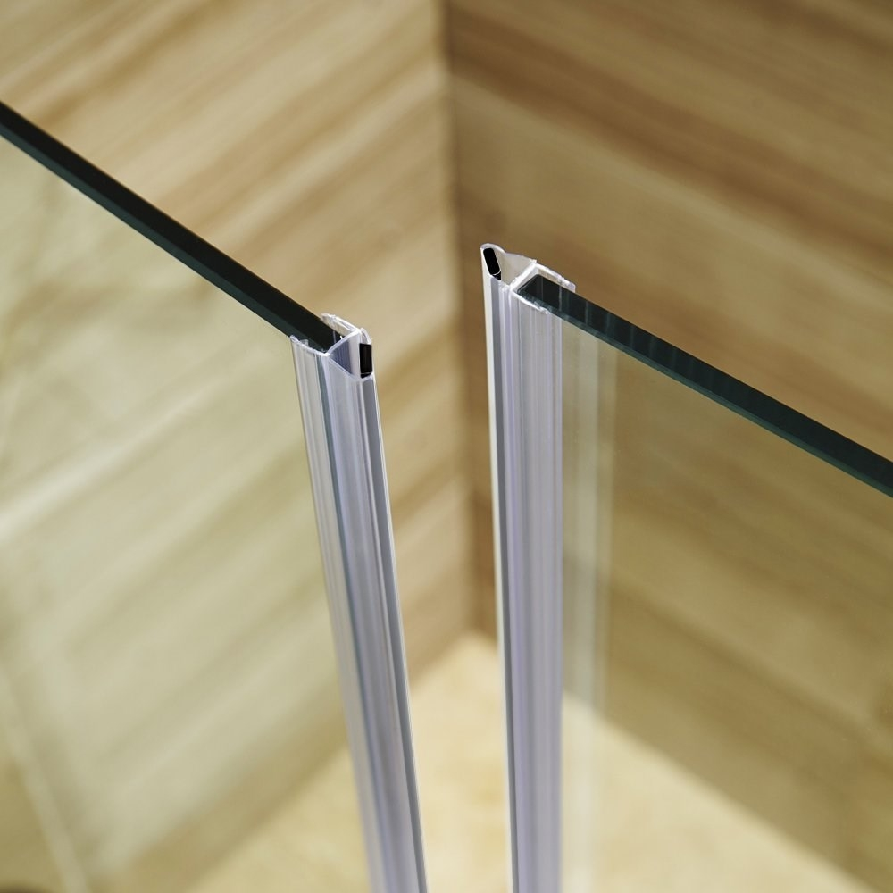 Frameless Glass Shower Door Side Seal