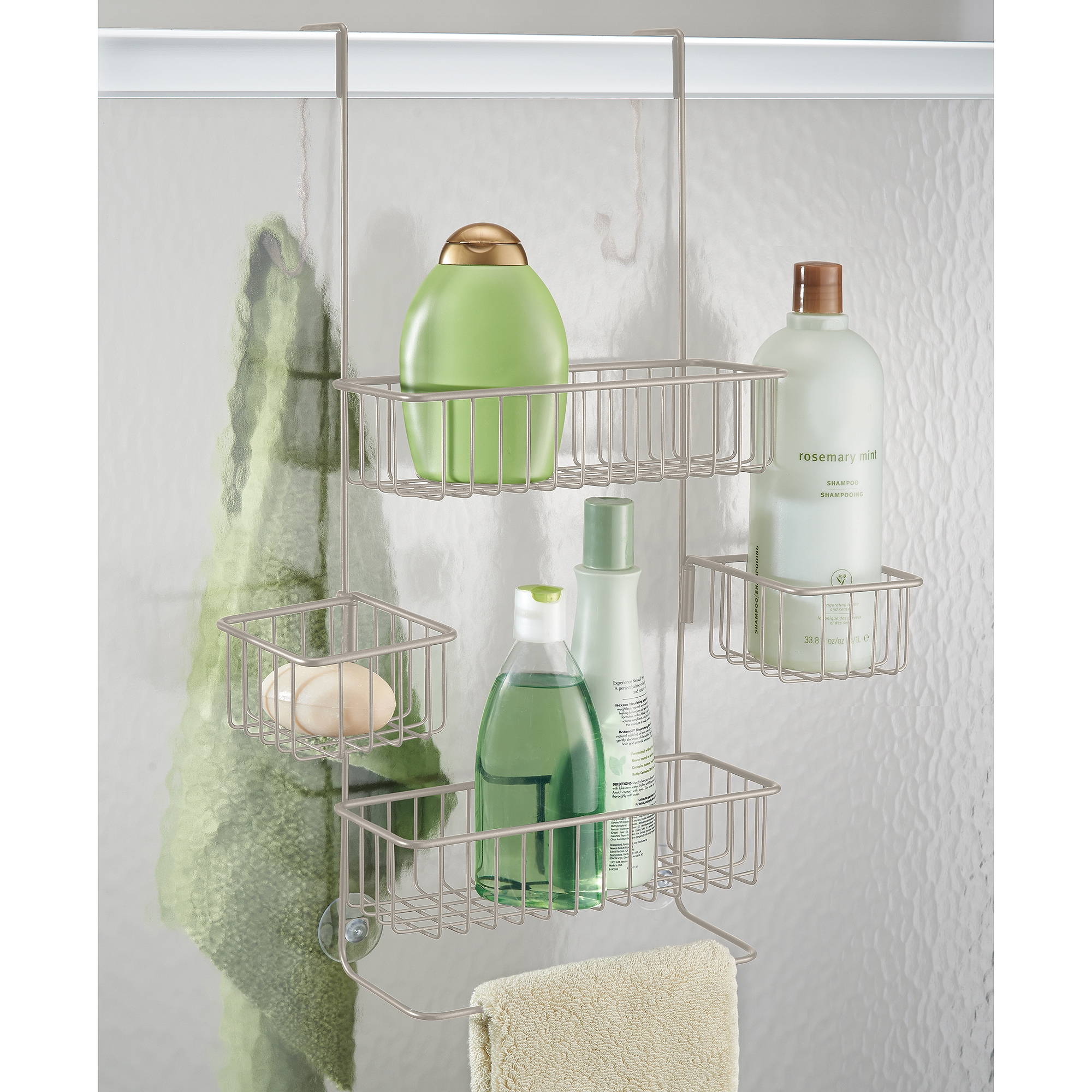 Permalink to Shower Door Shampoo Holder