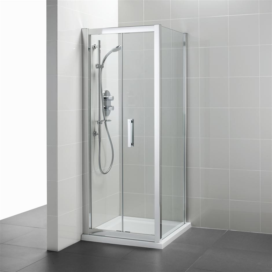 Standard Size Frameless Glass Shower Doors