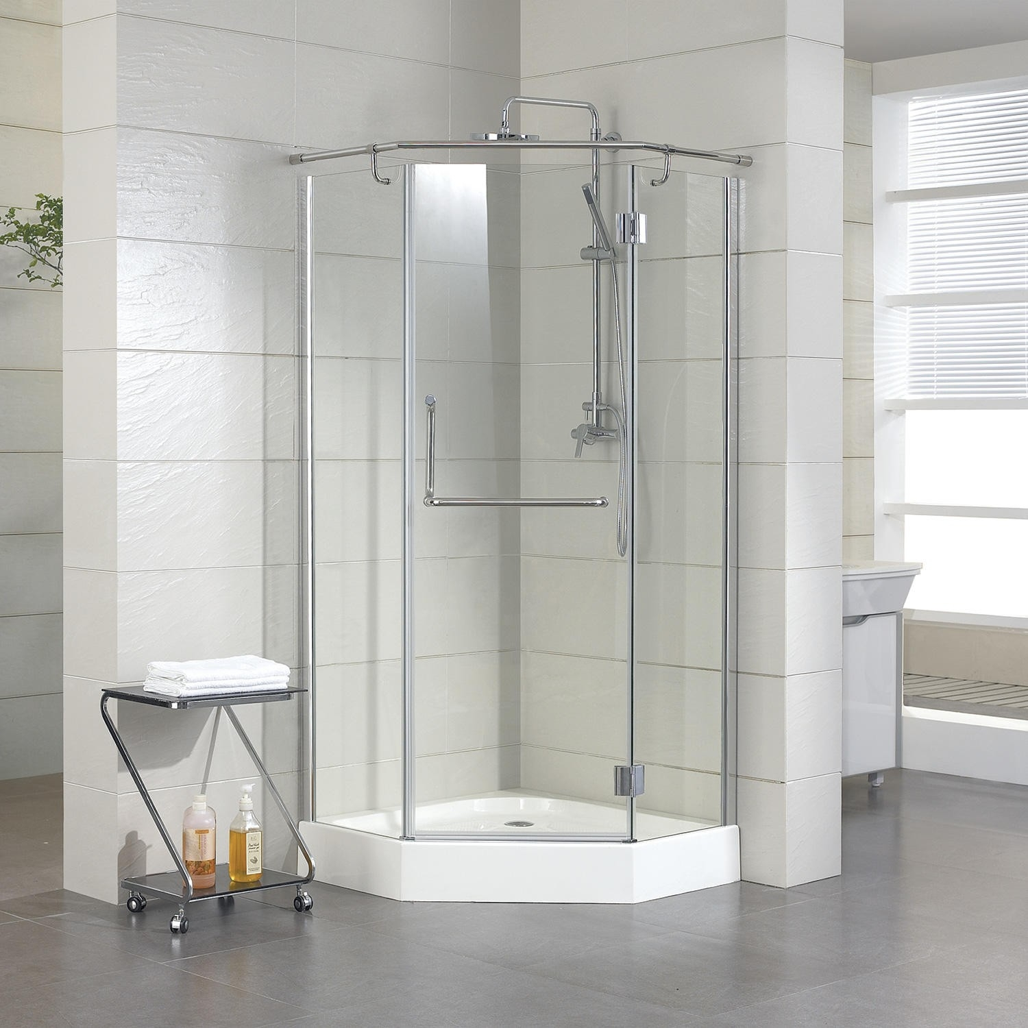 36 X 36 Neo Angle Shower Doors