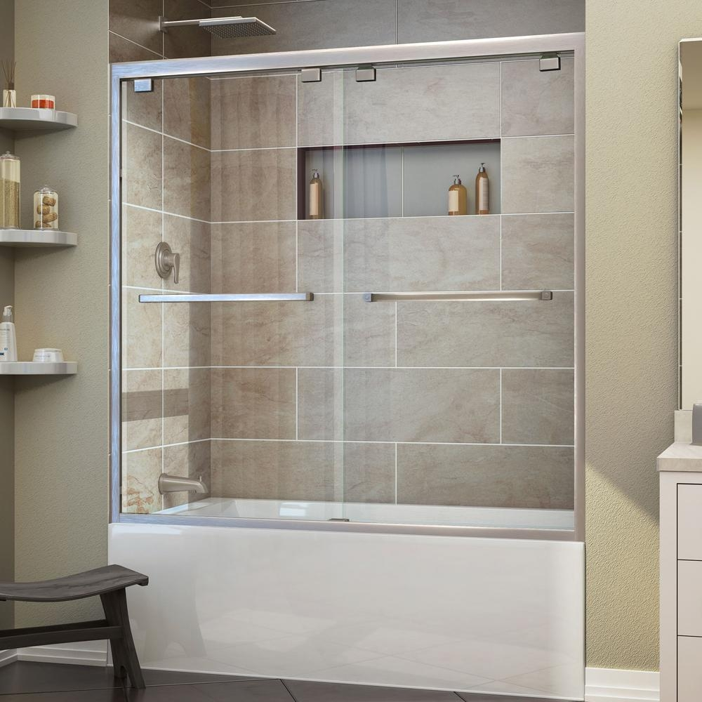 5 Foot Pivot Shower Door