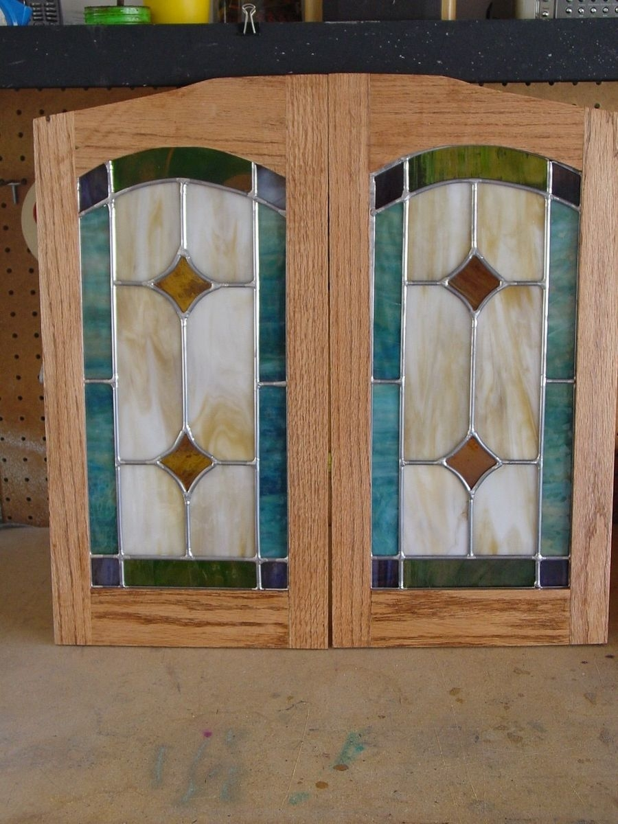 Closet Doors Stained Glass