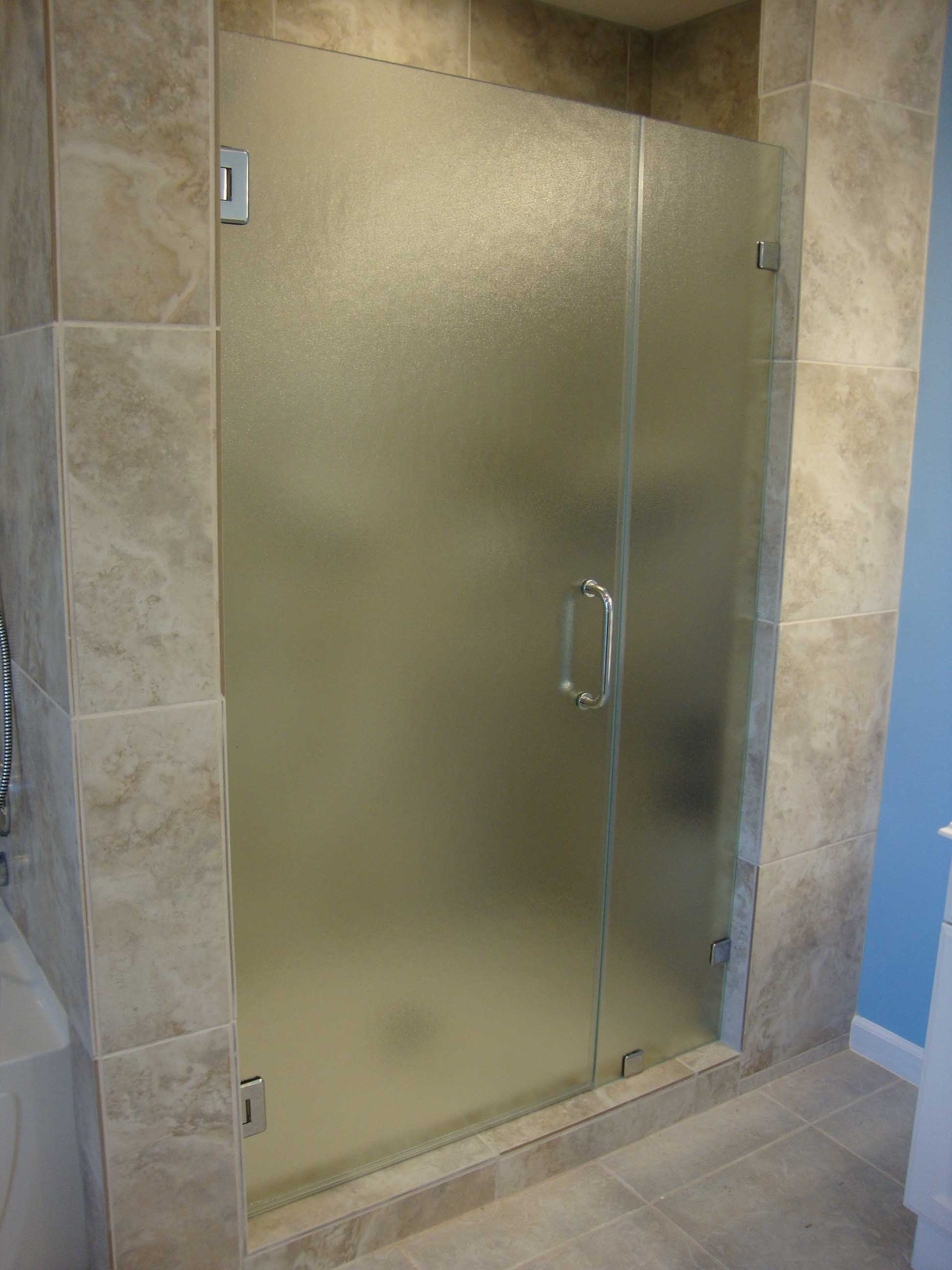 Etched Glass Shower Doors Pictures