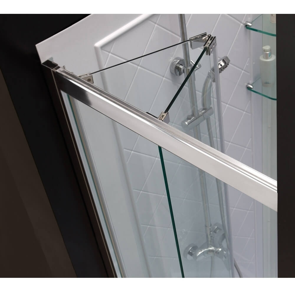 Frameless Shower Door Hinge Adjustment