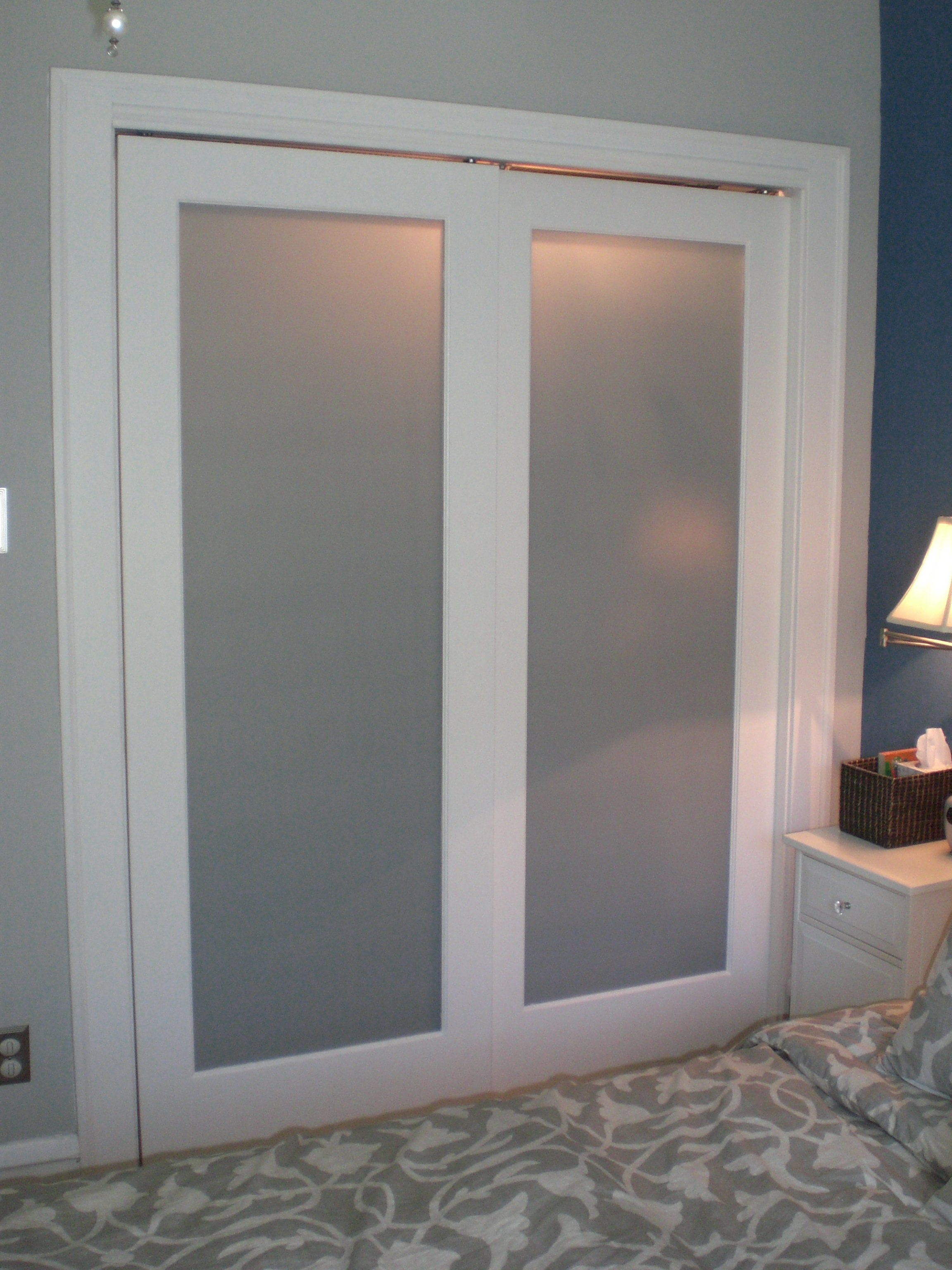 Frosted Glass Door For Closet